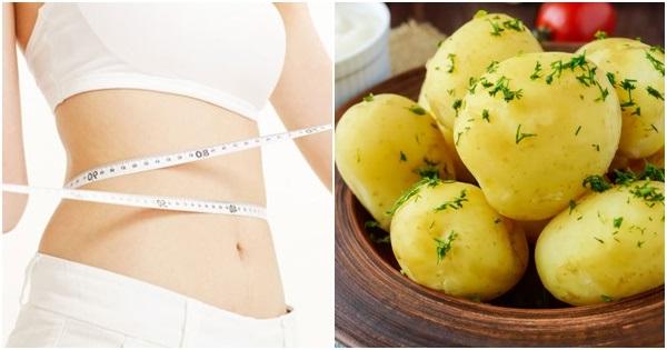 khoai tây giảm cân